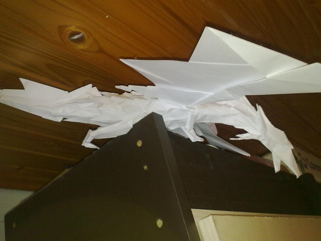 Dragon of mine angle 2 by Pufferzsola