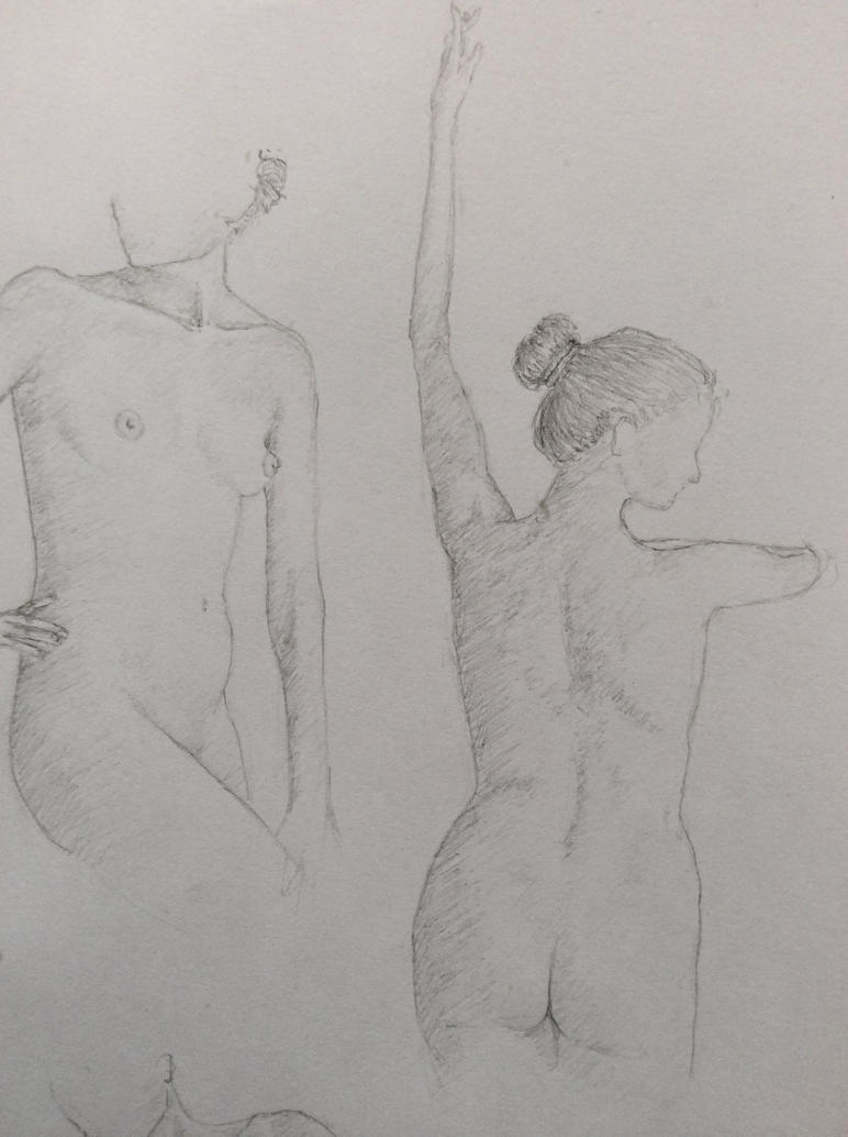 Female Nude #3 by NadAlei