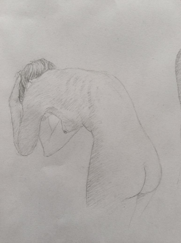 Female Nude #4 by NadAlei