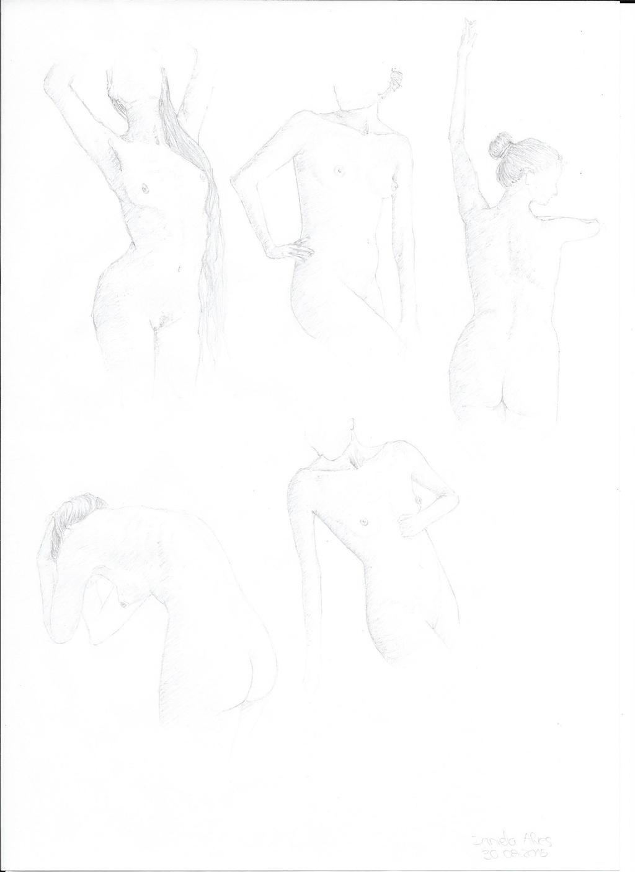 Female Nudes. by NadAlei