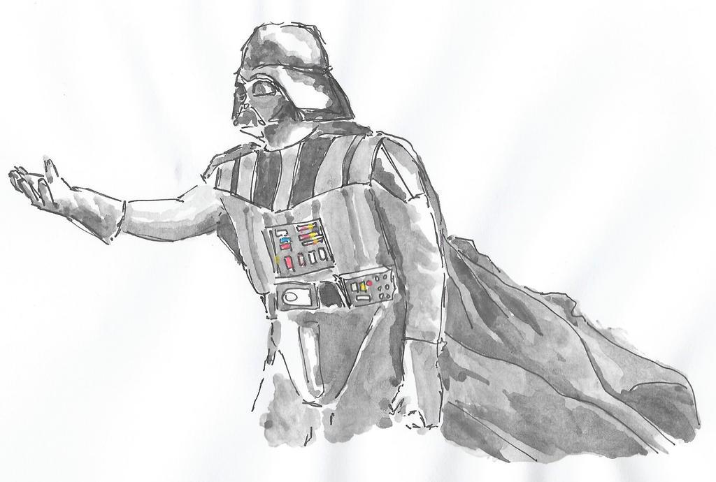 Darth Vader by NadAlei