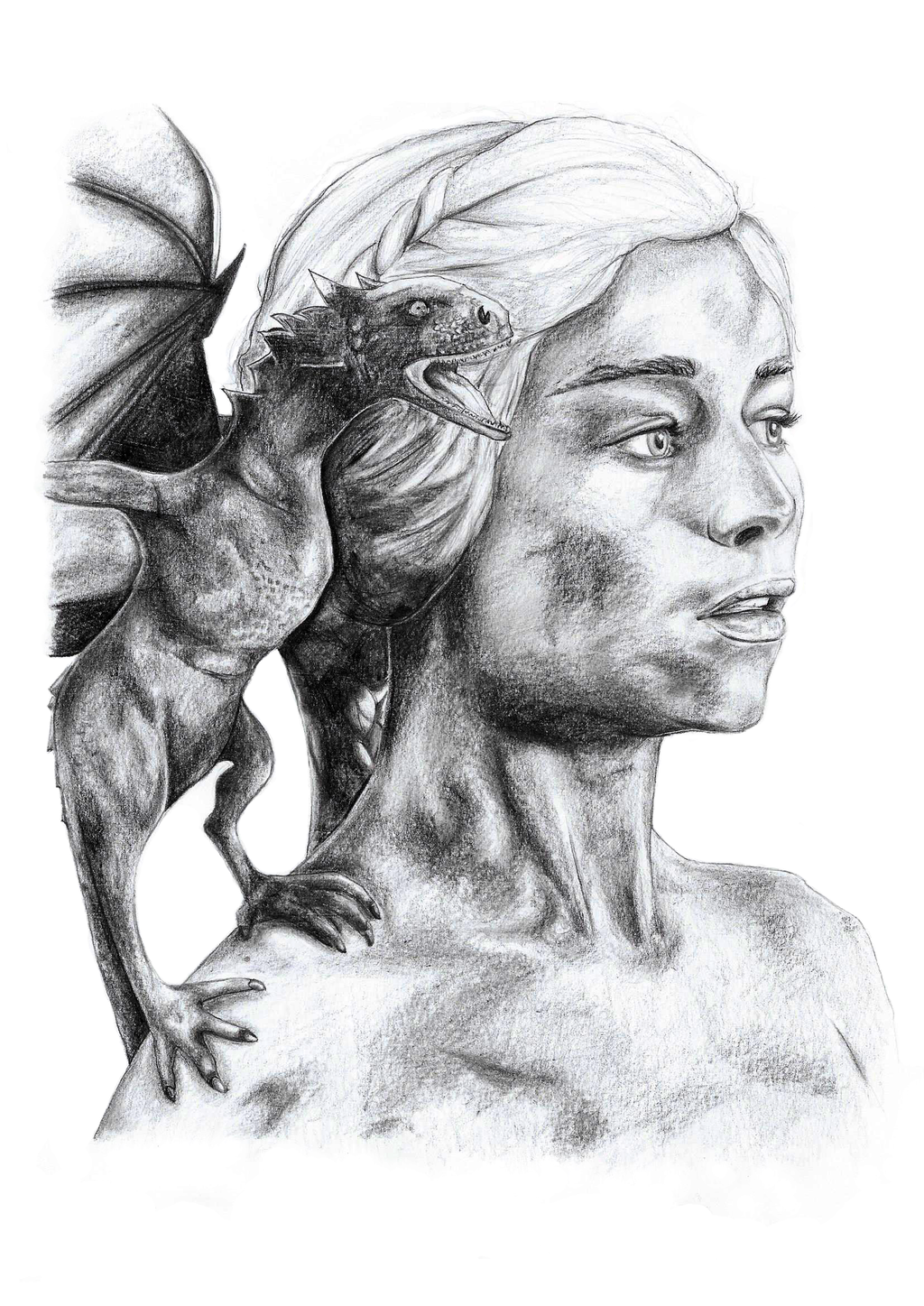 Daenerys Targaryen by NadAlei