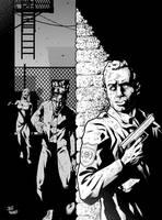 the walking dead by StevenHoward