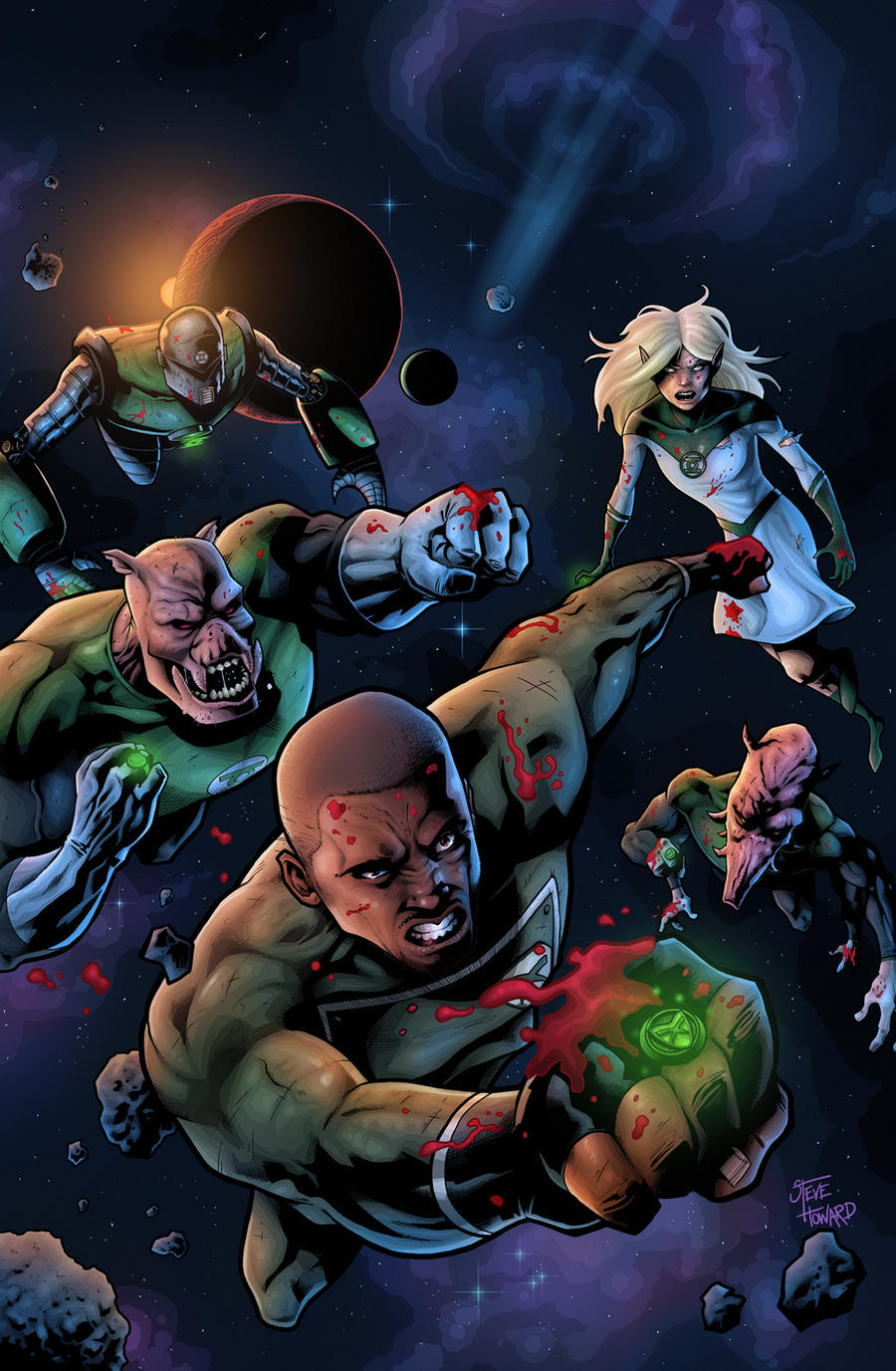 Dc Comics Fans : Justice league on dc comic fan art deviantart