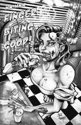 Zombies 2 pin up