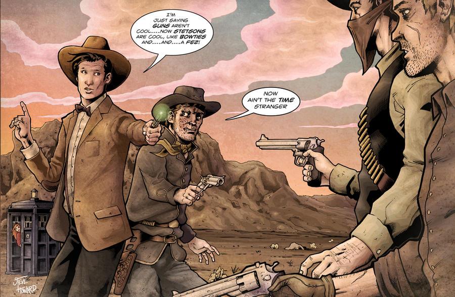 the doctor and jonah hex csbg by StevenHoward on DeviantArt