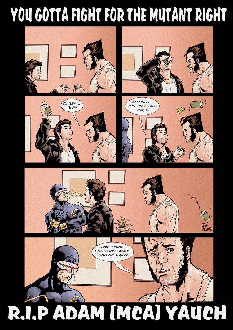 The Beastie Boys, Comic Book Style! tliid week 90 by StevenHoward