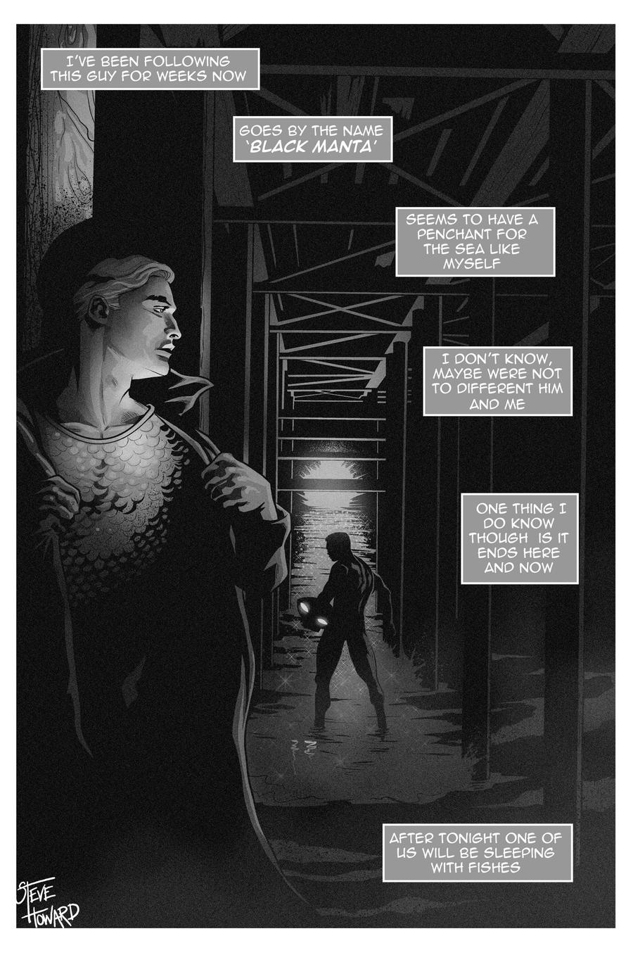 TLIID 97 Comic Book Characters Noir Style by StevenHoward
