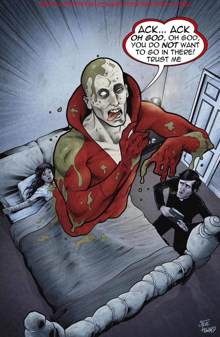 Week 113 Halloween 2012 Deadman Excorcising by StevenHoward