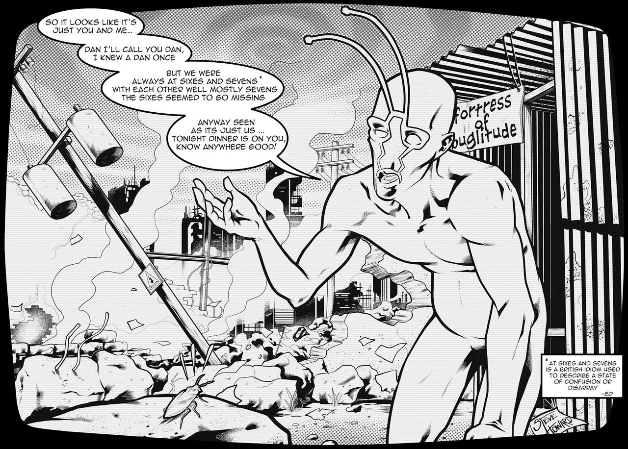Week 123  Post Apocalyptic Bug by StevenHoward