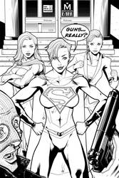 Superwoman Cover 1 Dc2 10 Years Later by StevenHoward