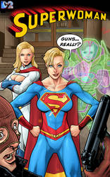 Superwoman Cover Colour 1 Dc2 10 Years Later