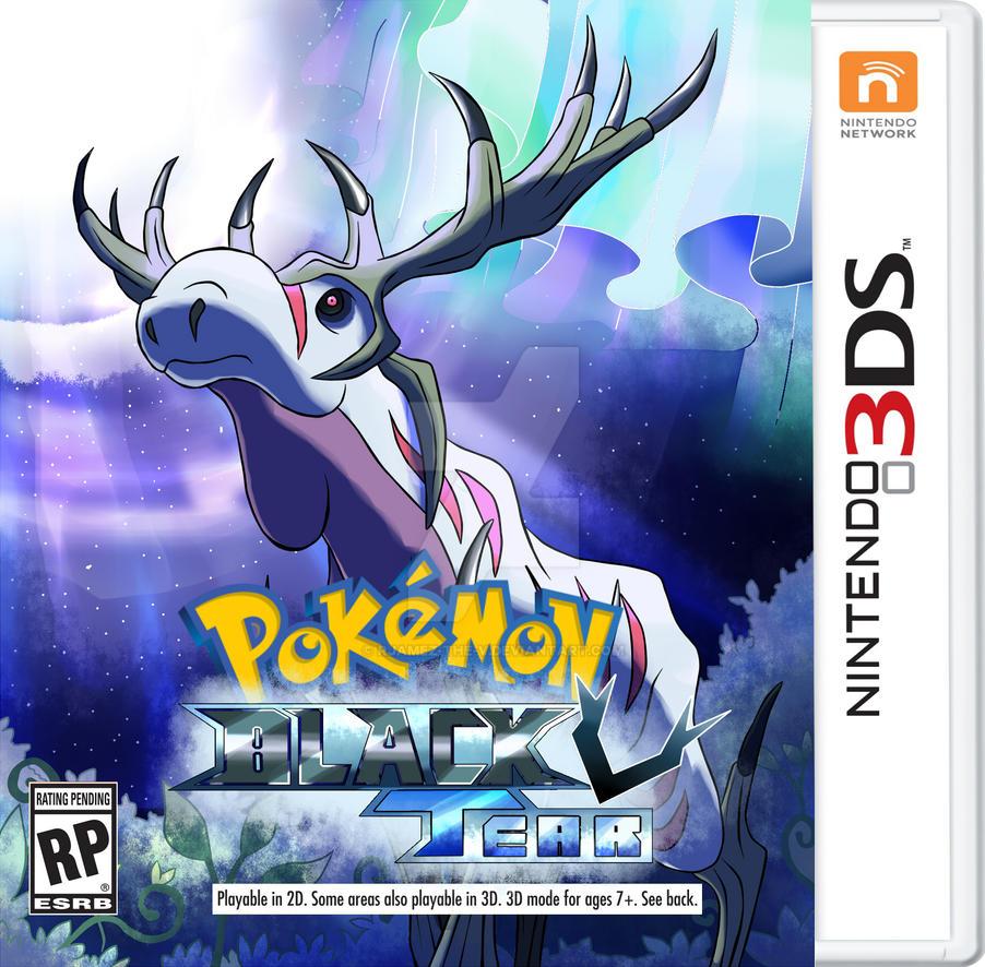 Pokemon Black Tear BoxArt by rjamez-the-v
