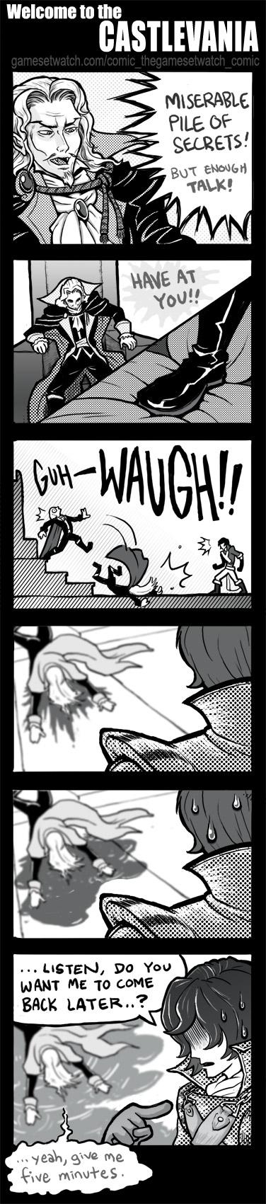 GSW Comic 25 - Castlevania by PersonaSama