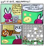 Cut it Out, Megaman