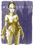Robot Girl from Metropolis