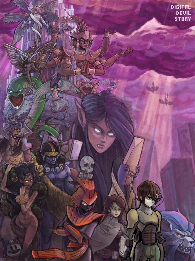 New Digital Devil Story by PersonaSama