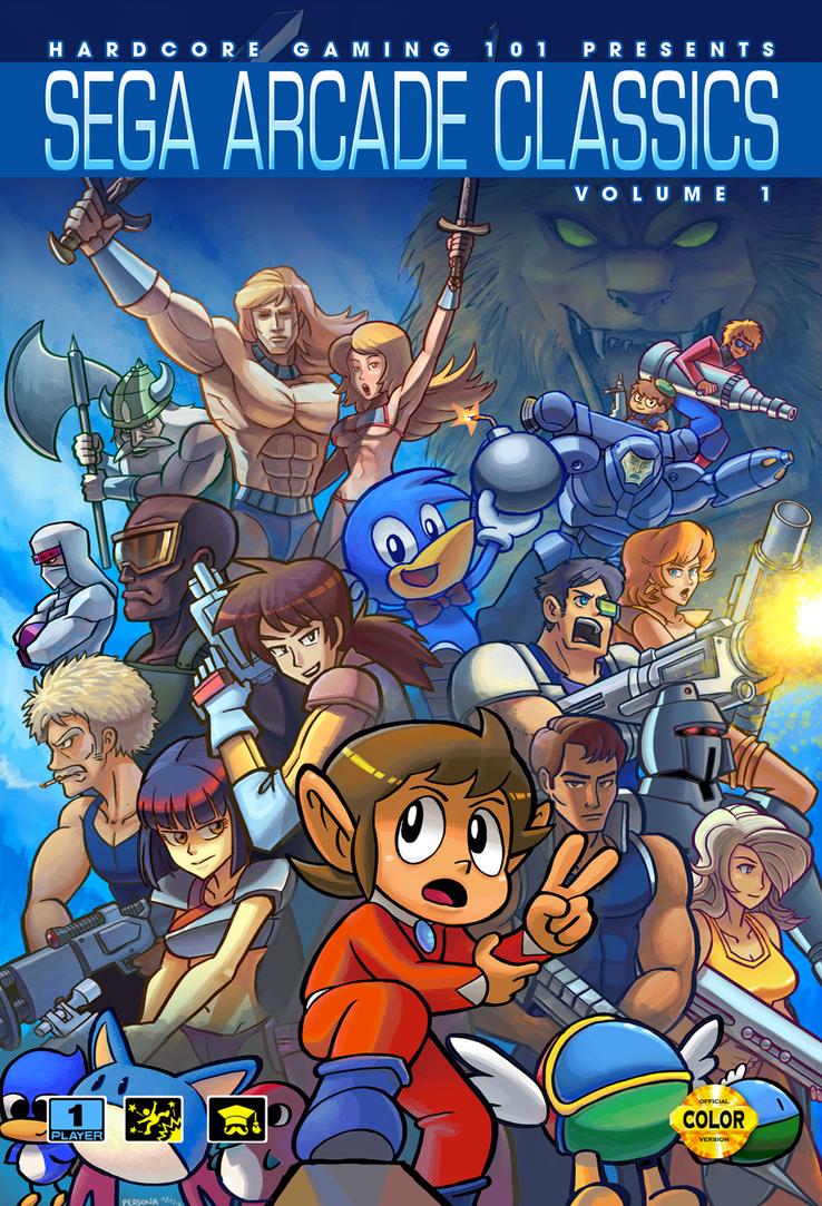 HG 101 presents Sega Arcade Classics Vol. 1 by PersonaSama