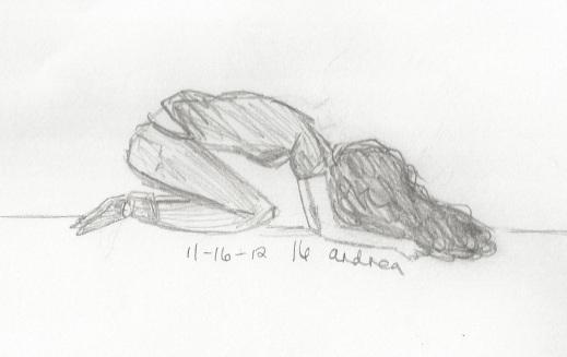 Sketchvember 16: I don't know. by chucklepink