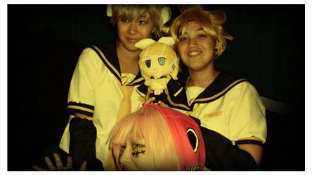 Len, Len, and Luka by Yufi09