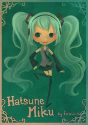 -Hatsune Miku- by focaccina