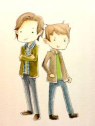 Sam n Dean by focaccina