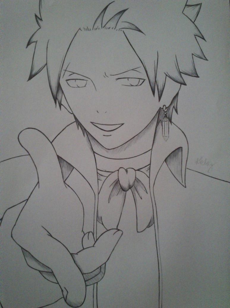Sting-kun (sketch) by haru4lavi
