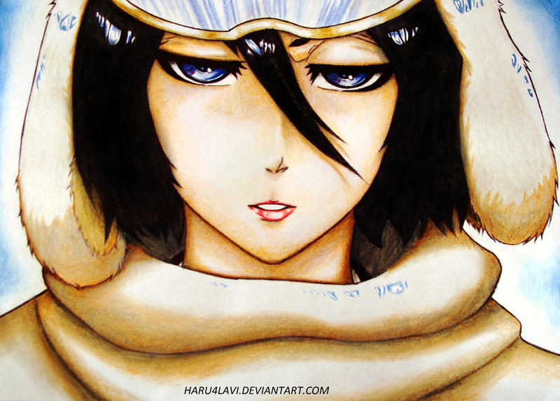Kuchiki Rukia Dedication for Readrin by haru4lavi