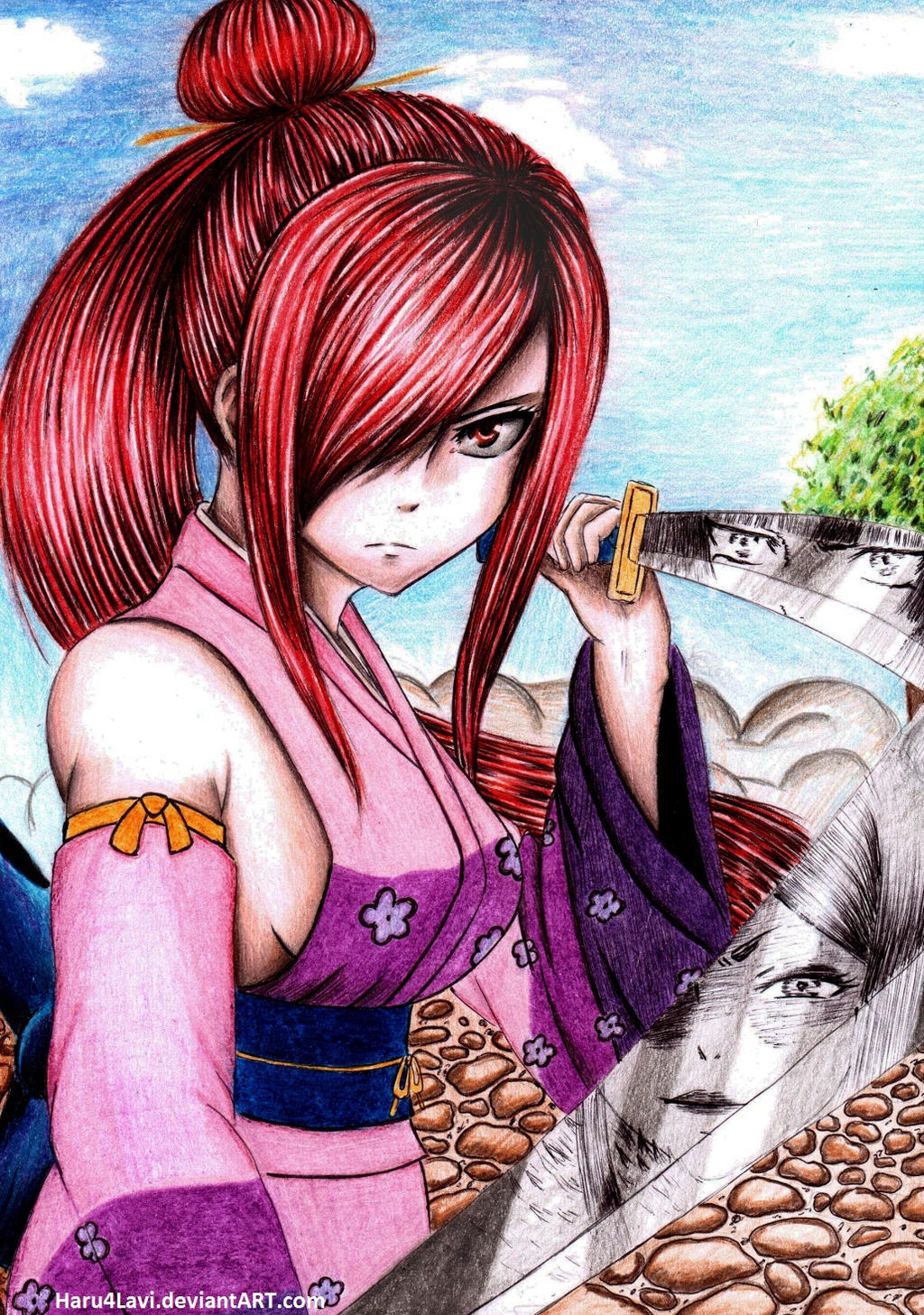 Erza Scarlet (Fairy Tail) by haru4lavi