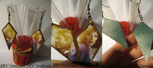 BioShock Infinite earrings by Soukyan