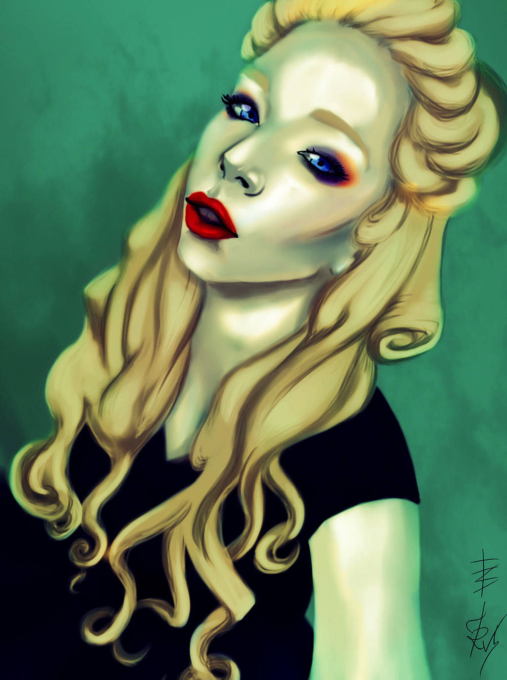 Grav3yardgirl by Soukyan