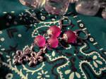Earrings: A Shade of Purple