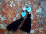 Earrings: Blue Wind