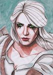 a Princess, a Sorceress, and a Witcher by Soukyan