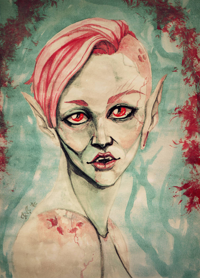 Pink Nosferatu by Soukyan