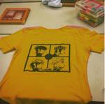 Gorillaz print shirt by Bluegirl123456