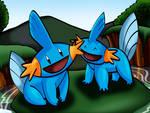 Mudkips by Bluegirl123456