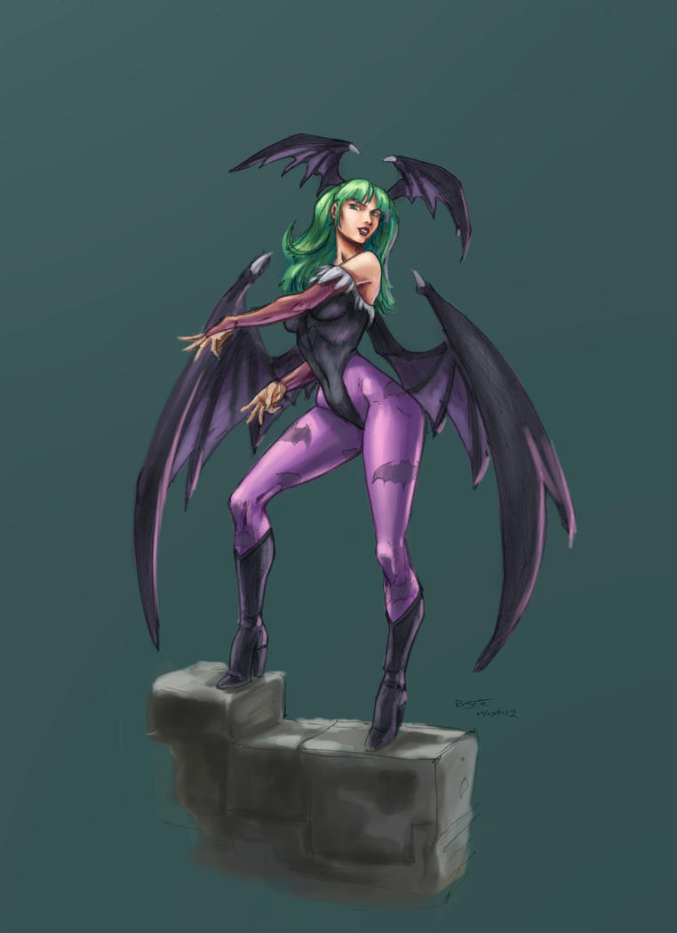 Morrigan by 6evilsonic6