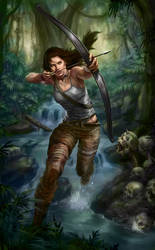 TOMB RAIDER REBORN contest by 6evilsonic6