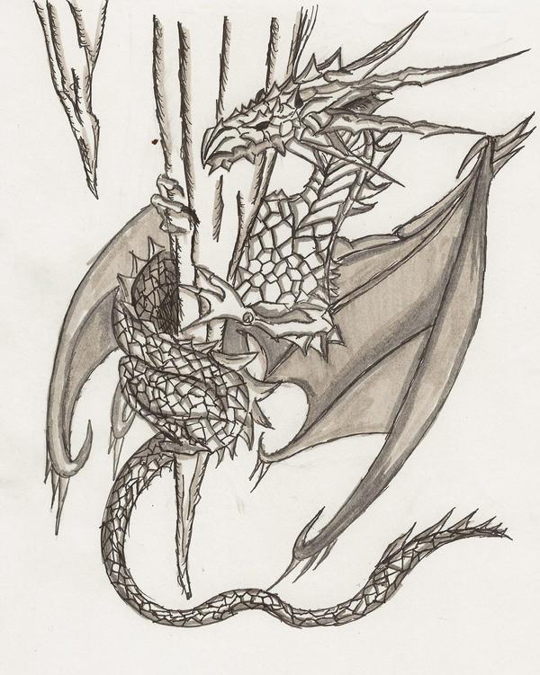 cool ice dragons drawings Фото база