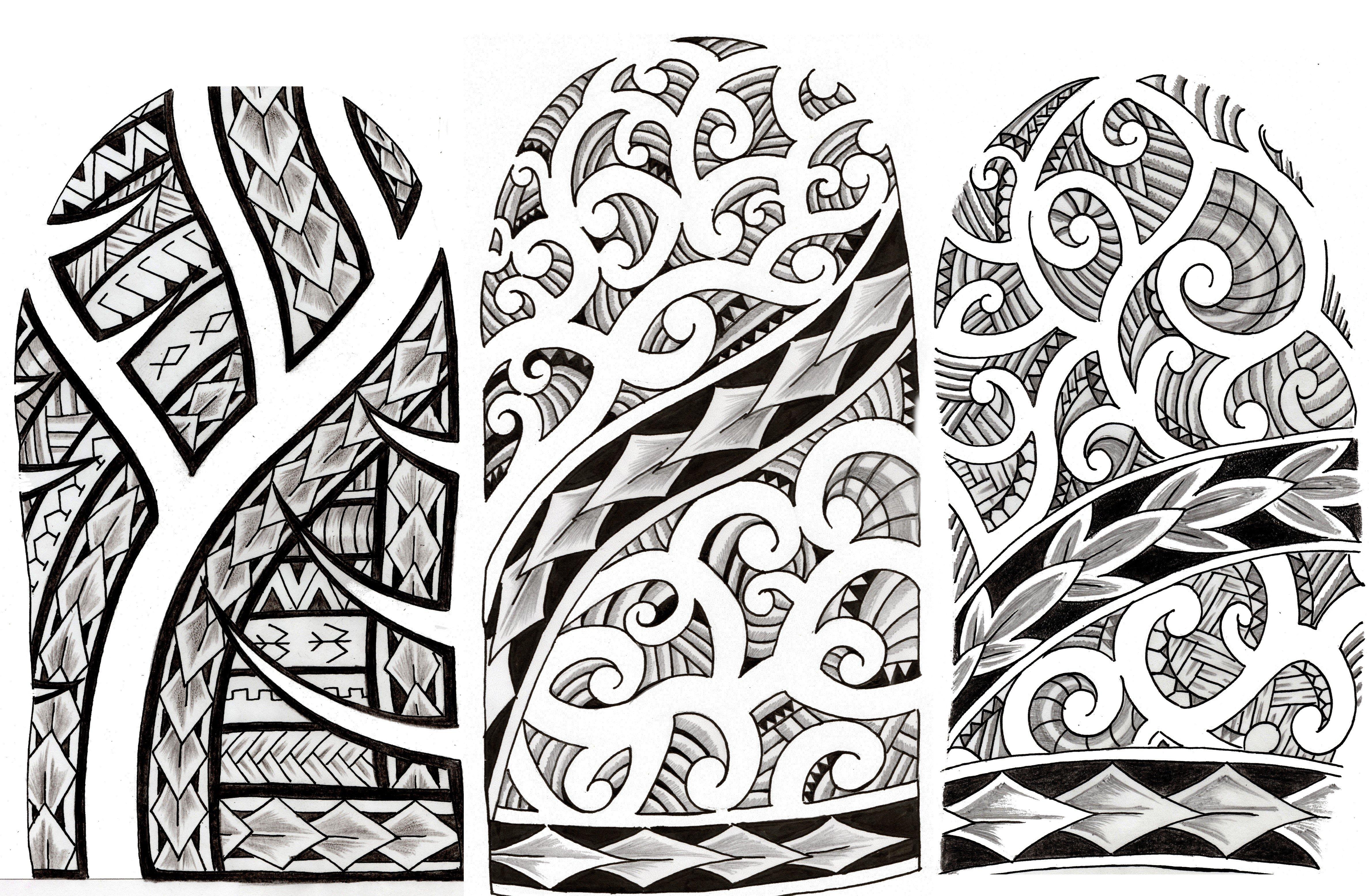 Maori Style Tattoo Designs: Maori Style Designs By Shadow3217 On DeviantArt