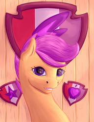 Scootaloo CMC ver. by xxxATERxxx