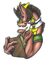 Secretary Dragon by ThePioden