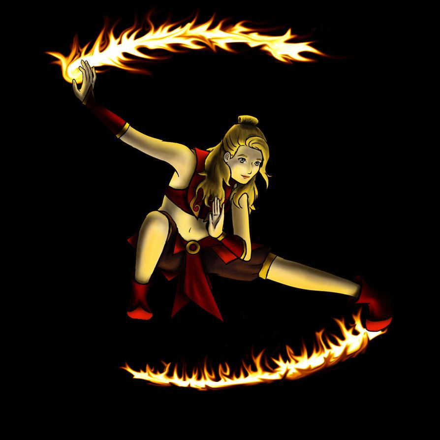 Firebender by Sonaix