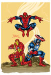 Spider man and Avengers