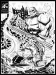 Capitain America vs Thanos