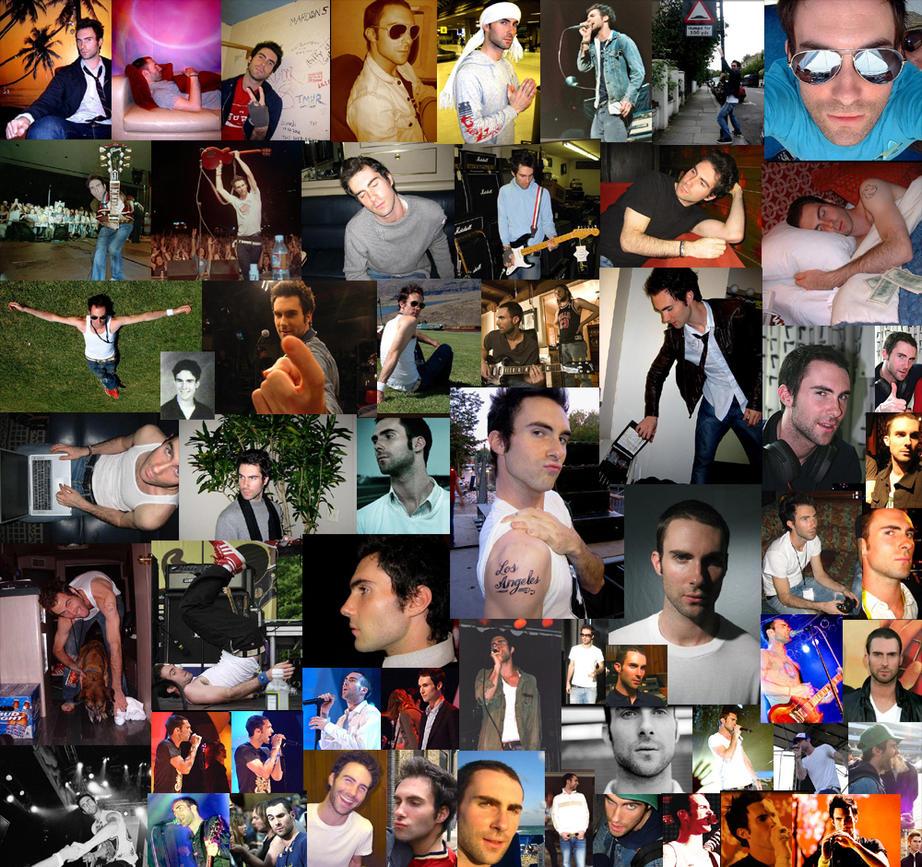 Adam Levine : my love by