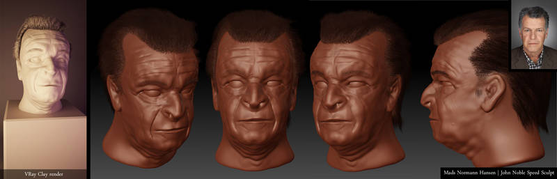 John Noble Speed Sculpt