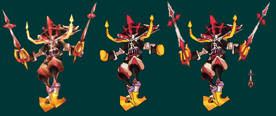Xion Boss Sprite 'Early WIP' by TheKCroxas on DeviantArt