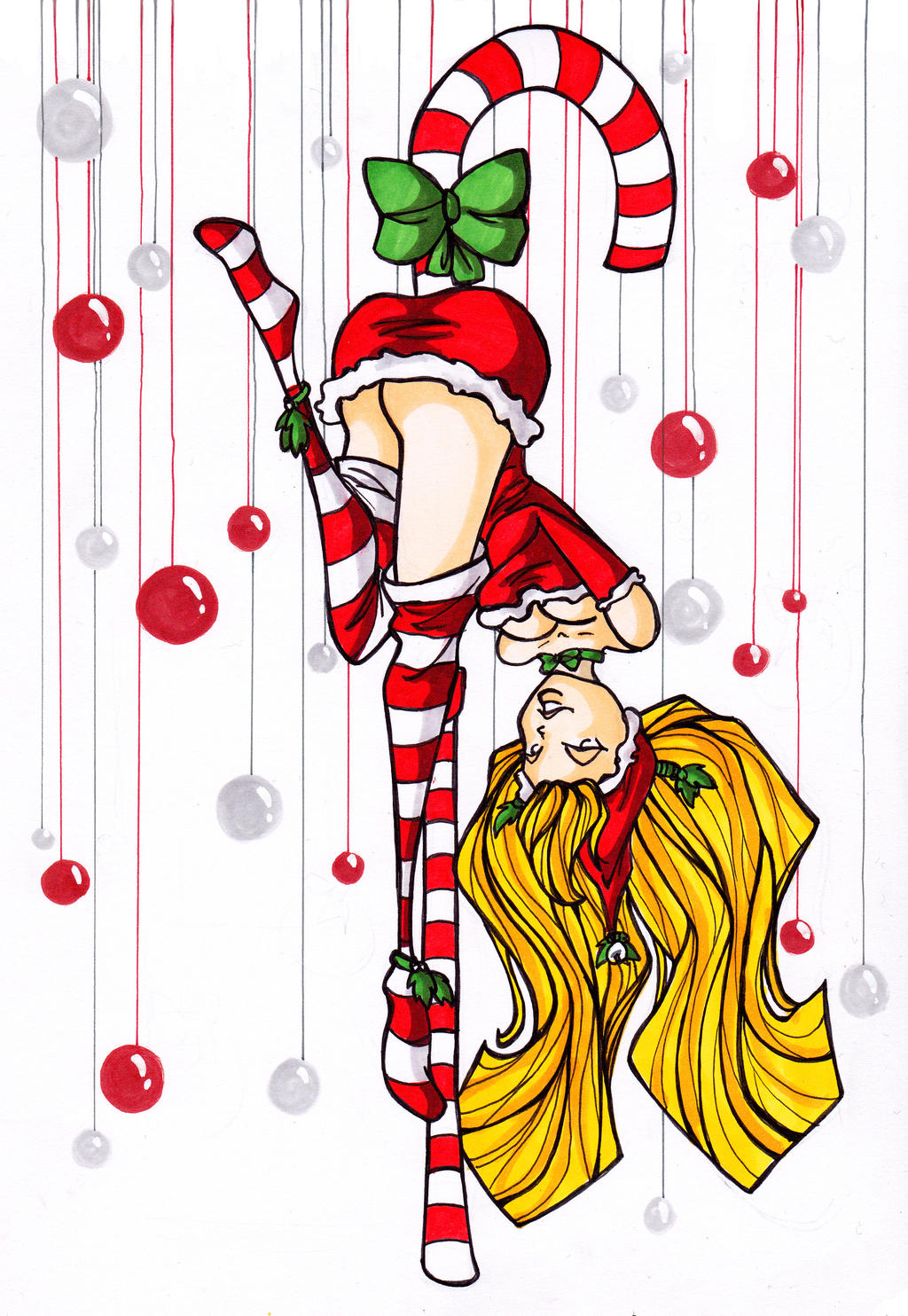 Christmas - girl I by LadyAstrogah